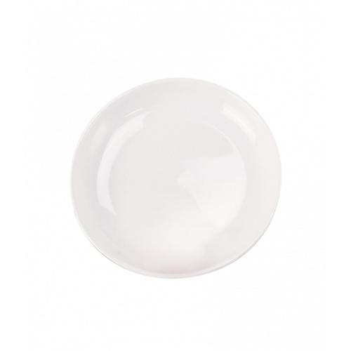 ADAMAS จานซุปเซรามิกก้นลึก 9 นิ้ว FA011 สีขาว