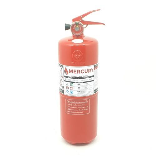 MERCURY เครื่องดับเพลิงชนิดผงเคมีแห้ง  5lb 2A2B สีแดง