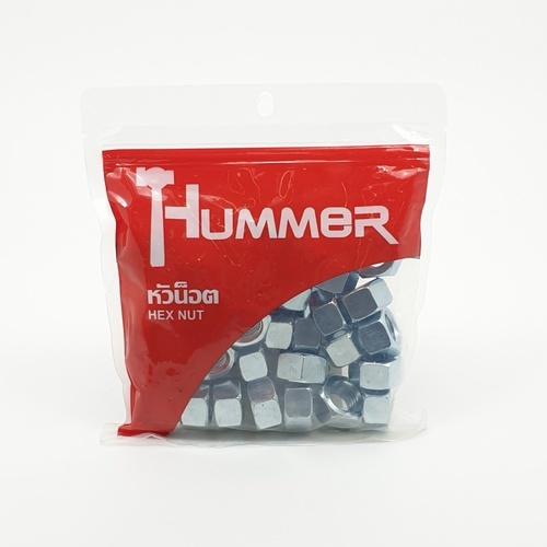 HUMMER หัวน็อต HM ขนาด 5/8 (เกลียวหุน) (1KG/ถุง) HN-58 สีโครเมี่ยม