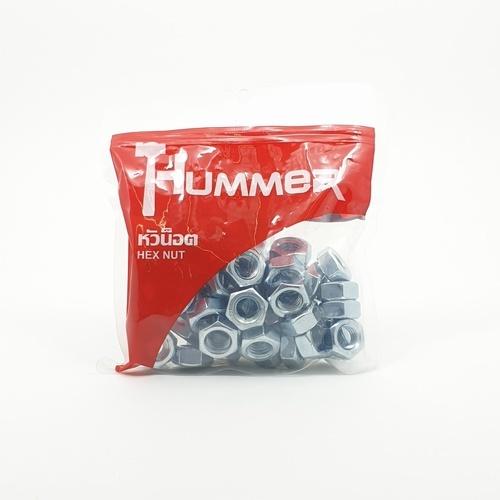 HUMMER หัวน็อต HM (เกลียวมิล) (1KG/ถุง) HN-M14 สีโครเมี่ยม
