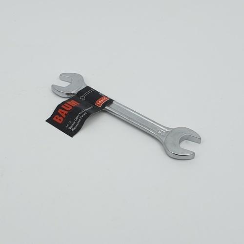BAUM ประแจปากตาย ขนาด 14X15mm. - สีโครเมี่ยม