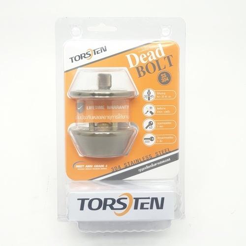 TOSTEN กุญแจล็อคลิ้นตายสเตนเลส 304 รุ่น D101-AB สีทองเหลืองรมดำ TORSTEN D101-AB