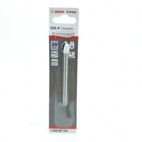 BOSCH ดอกเจาะกระเบื้อง  Tile drill bit 10 x 90 mm (1) เทา-ขาว