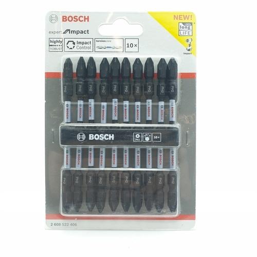 BOSCH ดอกไขควงดำ Impact PH2 110mm 10Pcs Bosch - สีดำ