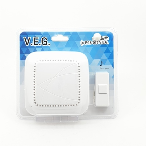 V.E.G กระดิ่งไฟฟ้า รุ่น RGB-019 V.E.G.  คละสี