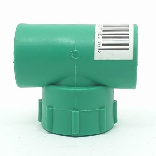 ERA สามทางเกลียวใน (25mm)x(1/2) PPR สีเขียว
