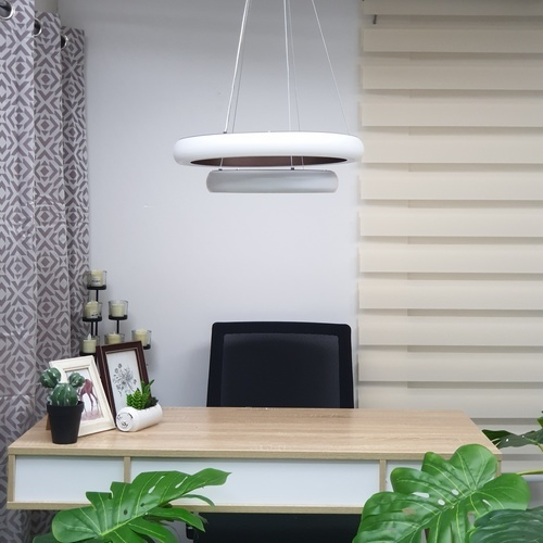 V.E.G โคมไฟห้อย LED 40W คูลไวท์  ซิลล่า DXD005-500C