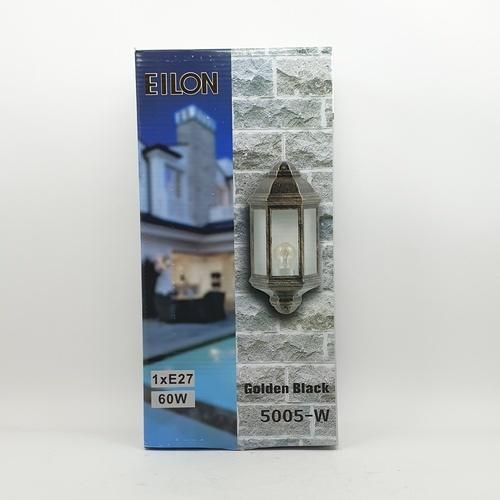 EILON โคมไฟผนัง  5005-W สีดำทอง