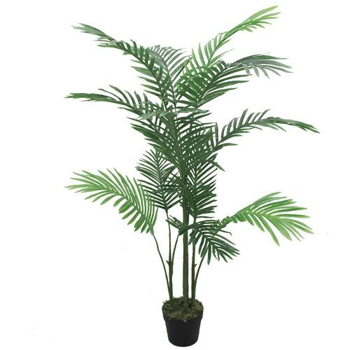 Tree O ต้นปาล์มประดิษฐ์ สูง135ซม. 13LVS พร้อมกระถาง JWS3000 สีเขียว
