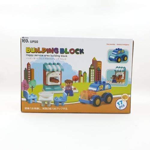 USUPSO ชุดของเล่นตัวต่อ  building block 001