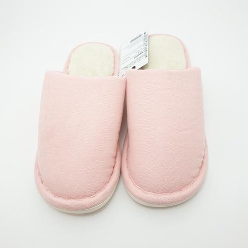 USUPSO  รองเท้าสลิปเปอร์ ขนนุ่ม   No.37-38 สีชมพู