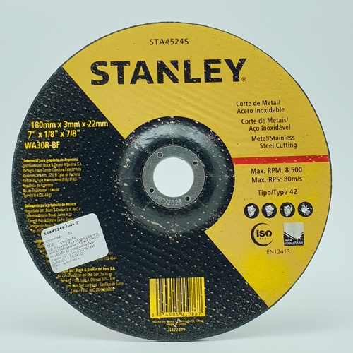 STANLEY ใบตัด 7 STA4524S STA4524S