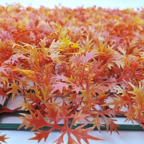 Tree O หญ้าเทียมแผ่นตกแต่ง  ขนาด 40x60CM ARK-66521 สีส้ม