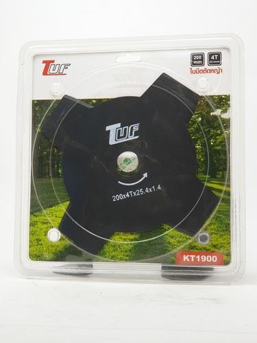 TUF ใบตัดเครื่องตัดหญ้า KT1501 200X25.5X1.4X4T ใบตัดเครื่องตัดหญ้า KT1501 200X25.5X1.4X4T