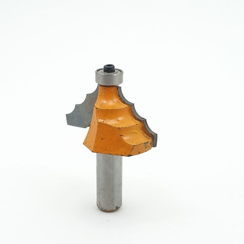 TUF ดอกเลาท์เตอร์ 1/2x1-1/2 mm.   01398 สีเหลือง