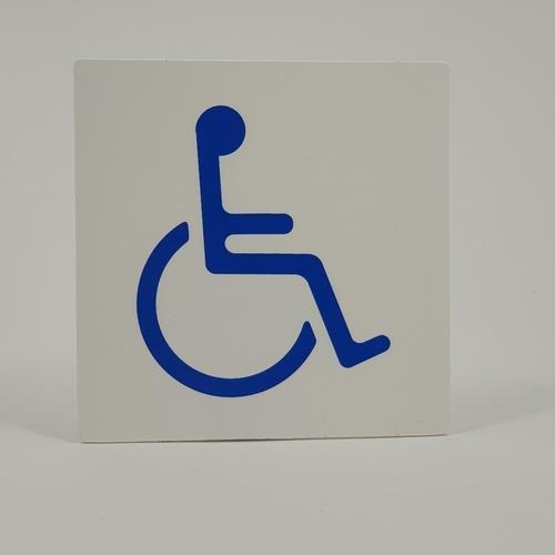 CITY ART คนพิการ SGB1101-05. ขนาด 10*10 ซ.ม. สีขาว