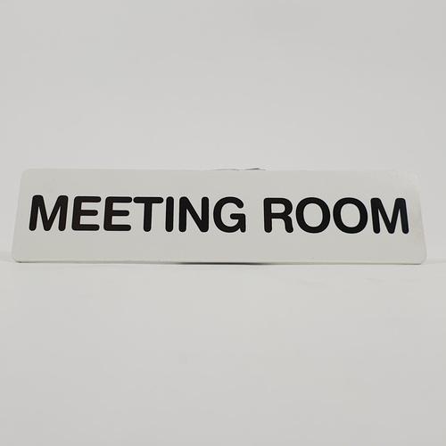 CITY ART ป้ายPP (MEETING ROOM) ขนาด 16x4 ซม. SGB1103-32 สีขาว