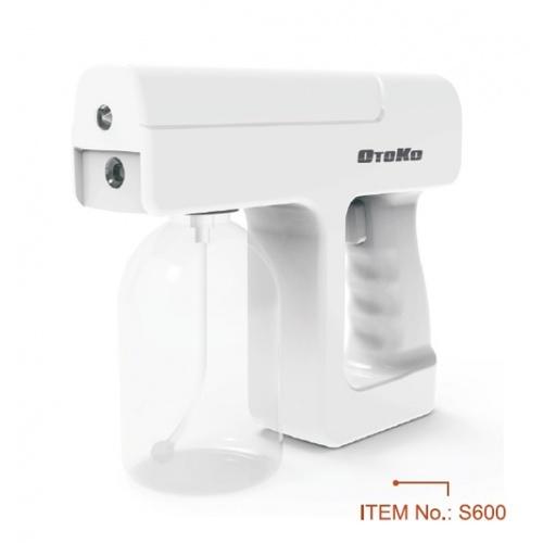 OTOKO ปืนฉีดพ่นแอลกอฮอล์ฆ่าเชื้อ แบบชาร์จ USB 300ml S600 สีขาว