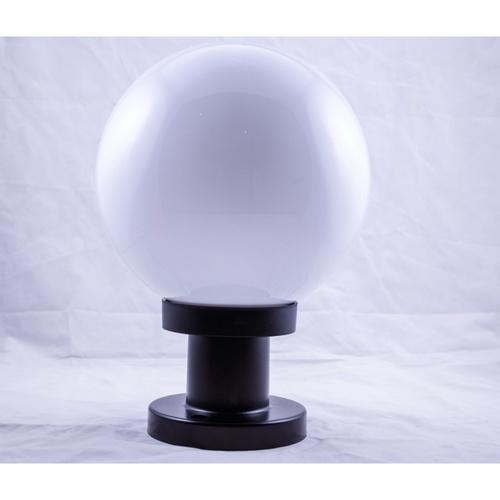 EILON โคมไฟหัวเสาทรงกลม  ขนาด 8นิ้ว  TVZT118-8 สีขาวขุ่น สีขาว