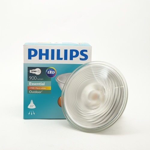 PHILIPS หลอดแอลอีดีพาร์ 10-80 วัตต์   E27 2700K 25D สีขาว