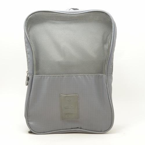 WETZLARS กระเป๋าจัดเก็บรองเท้า 2 ชั้น ขนาด 22x12x30 cm   ZRH-021-GY    สีเทา