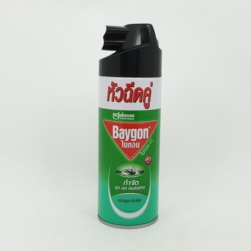 ไบกอนเขียวสเปรย์ กลิ่นยูคาลิปตัส 300 มล.  เขียว