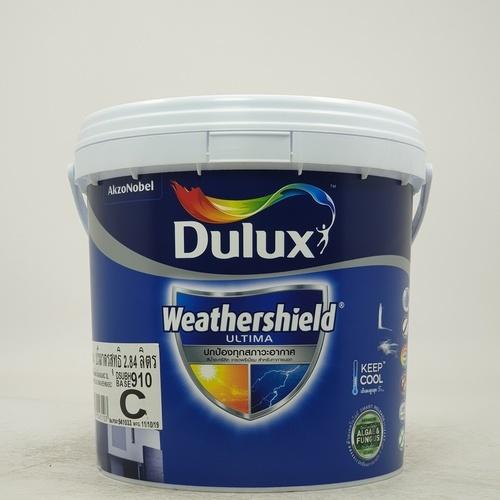 Dulux ดูลักซ์เวเธ่อร์ชีลด์อัลติม่า(เนียน)เบส C 3L Weathershield Ultima (Sheen)