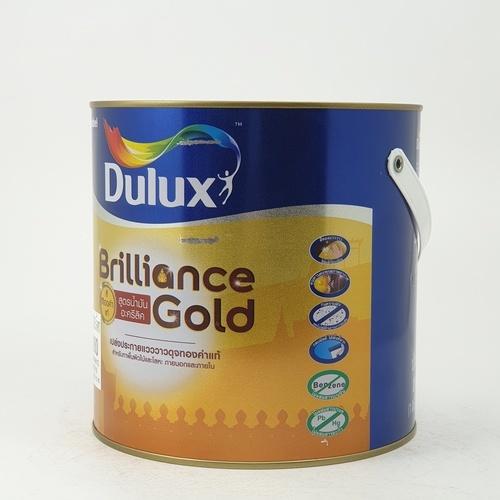 Dulux ดูลักซ์บริลเลียนซ์โกลด์ สูตรน้ำมัน GS900 ขนาด 1G DS BRILLIANCE GOLD (GS900)