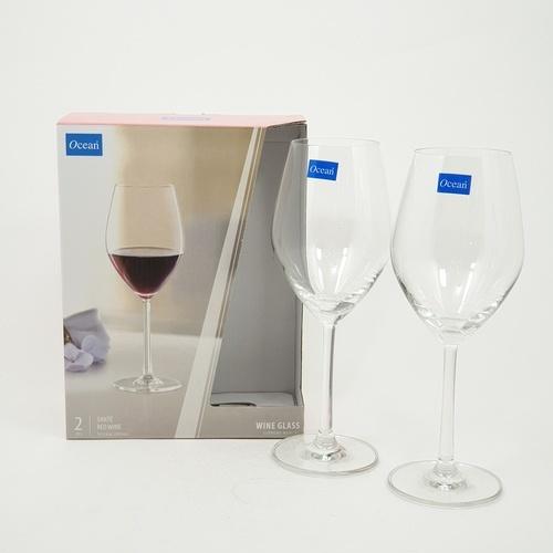 Ocean ชุดแก้วไวน์แดง ซองเต้ 2ใบ/แพ็ค 420 มล.  SANTE RED WINE