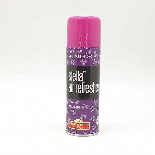 Kings Stella สเปรย์ปรับอากาศ กลิ่นโรส 200 มล. *ซื้อ 1 แถม 1*