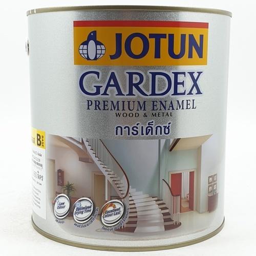 JOTUN สีน้ำมัน ชนิดเงา เบสบี ขนาด3.6ลิตร GARDEX PREMIUM GL ขาว