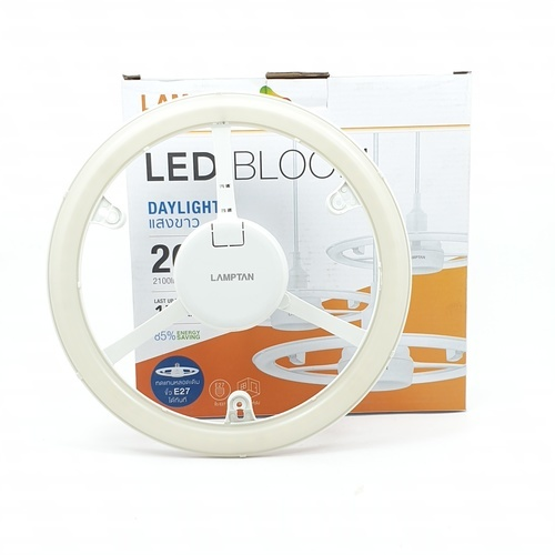 LAMPTAN โคมแอลอีดี บลูม  26W เดย์ไลท์ สีขาว