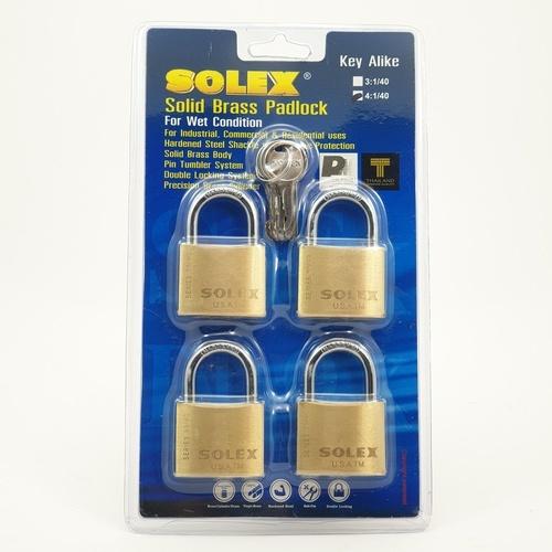 SOLEX กุญแจสายยู  KAL4:1SL99 ขนาด 40MM.