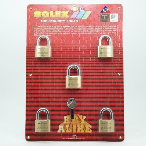 SOLEX กุญแจ คียอะไลค์  5:1MACHII ขนาด 40 MM PLUS