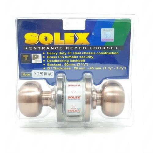 SOLEX ลูกบิด (แผง) 9210 AC  สีแดง