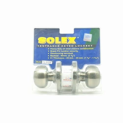 SOLEX ลูกบิด (แผง) 9210 AB  สีทอง