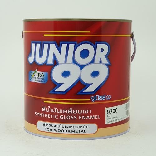 NIPPON JUNIOR สีน้ำมัน จูเนียร์ 99#9700 (3.5L) สีขาว