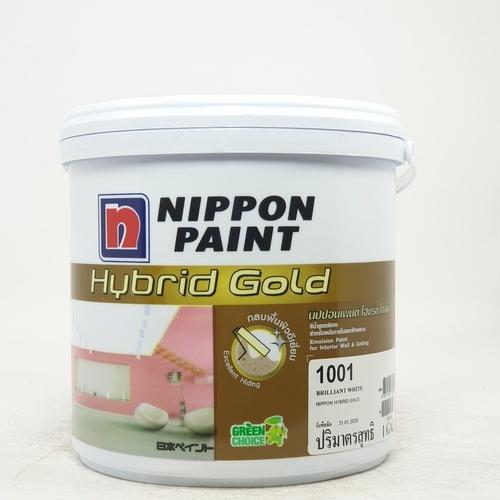 NIPPON สีรองพื้นปูนเก่า Hybrid Gold สีขาว