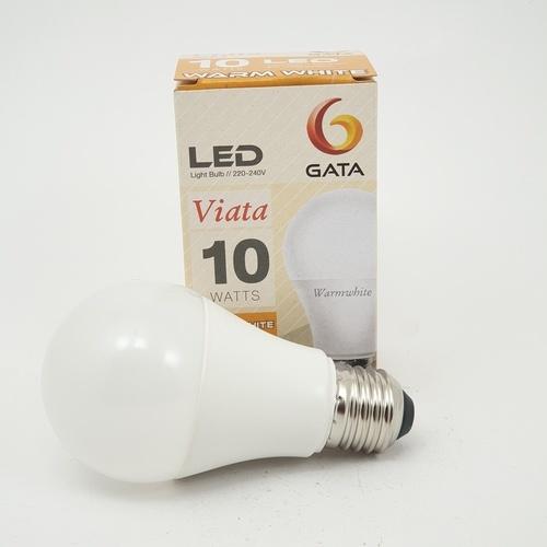 GATA หลอด LED 10 วัตต์ ฝาขุ่น E 27 Warm