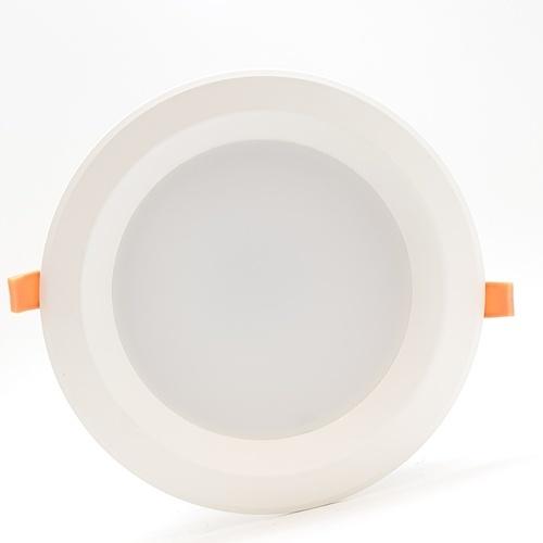 GATA โคมดาวไลท์ LED 8  นิ้ว  ขอบขาว 20W Day (แบบกลม) สีขาว