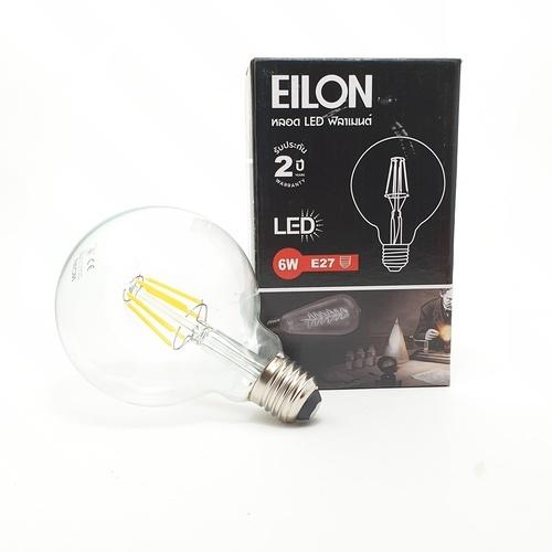 EILON หลอด LED ฟิลาเมนต์ Edison E27 6 วัตต์  GY-G95