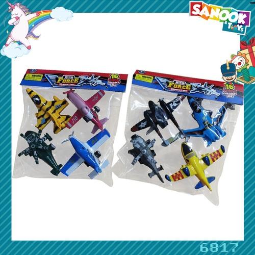 Sanook&Toys ชุดเครื่องบินรบจำลอง #6817 (23x22x5 ซม.) คละสี