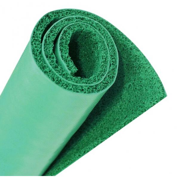 GRAFFE พรมดักฝุ่น PVC พื้นหลังเรียบ  ขนาด 122*300*1.2 ซม. สีเขียว