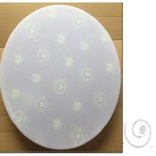 SYLLA  โคมไฟเพดาน LED อะคริลิค สลิม 24W เดย์ไลท์  ขนาด 39 cm.  AR24-03 สีขาว