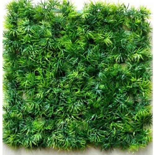 Tree O หญ้าเทียมแผ่น ขนาด 25x25CM. G011 สีเขียว