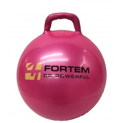 FORTEM ลูกบอลมีหูจับ 45 ซม. เหมาะสำหรับเด็ก 4 ขวบขึ้นไป ARK-HPB-3#45RR สีชมพู