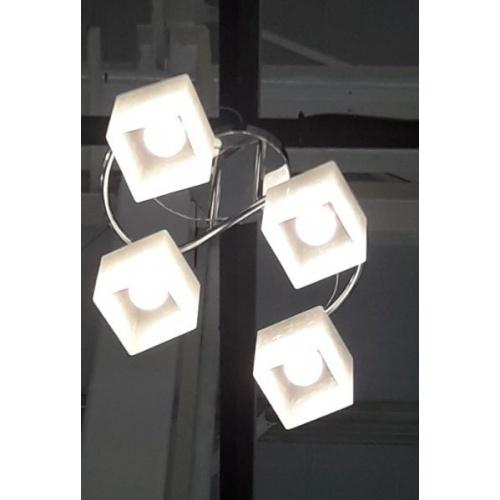 - โคมไฟเพดานโมเดิร์น  93263CR.4H.WT.