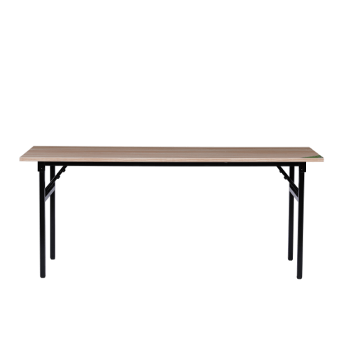 TABIO โต๊ะพับอเนกประสงค์ ลายไม้ สีพิกเล็ตโอ๊ค ขนาด 180CM S-18075L.W