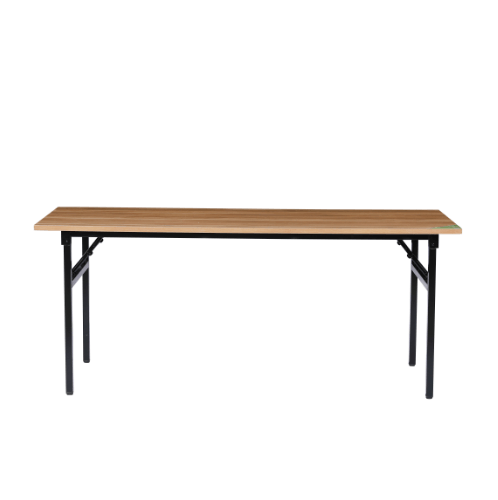 TABIO โต๊ะพับอเนกประสงค์ ลายไม้ ( D-wooden) ขนาด 60 x73x180 cm S-18060D.W