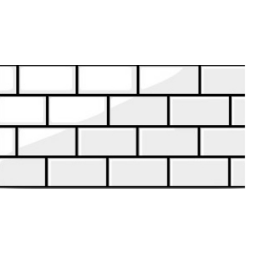 Marbella 30x60 การ์เด้นบริค-ไวท์   LY-22 (8P) A. สีขาว